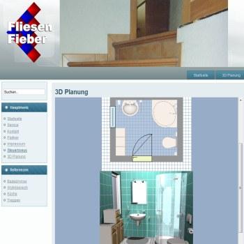 Hervorragend 3D Badplaner kostenlos   Fliesen Fieber ZH75