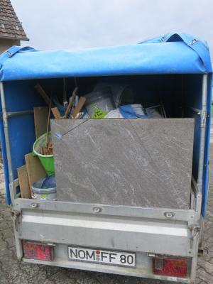Müllanhänger