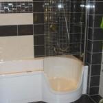 Twinline Badewanne und Dusche