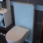 schmaler WC-Kasten