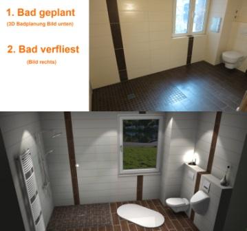 ein Bad sollte vernünftig von einem Badezimmerplaner durchdacht sein