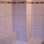 Badablagen über und neben der Badewanne Bild11
