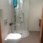 Badideen und Gestaltung. Duschpaneele