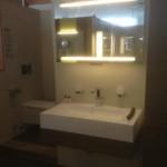 Beleuchteter Badezimmerspiegel