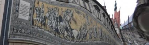 55 Dresden Bilder von der Altstadt und dem Fürstenzug
