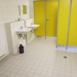 Duschanlage und Toilettenanlage