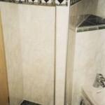 Eck Bidet und Ablageflächen für Glasablagen Bild7