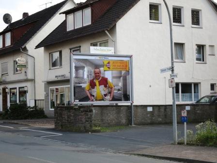Werbung zum Schüttenhoff