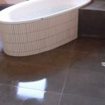 Freistehende Badewanne mit Ablage Bild14