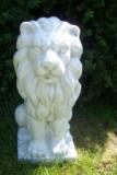 Gartendekoration Löwe aus Beton