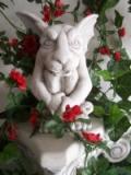 Gartenskulptur Figur Gargoyle Torwächter