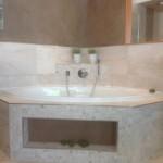 Idee für die Einmauerung einer Badewanne im Badezimmer
