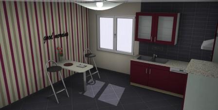 Küchenplanung mit Fliesen
