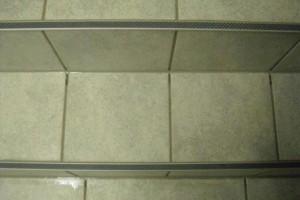 Kantenprofil für Treppen