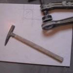 Lochboy und Fliesenhammer