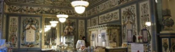 Der Milchladen in Dresden. Pfunds Molkerei