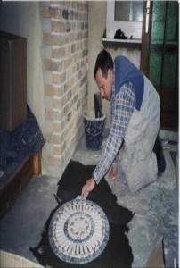 Mosaike mit Antikmarmor