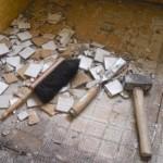 Mosaikfliesen entfernen