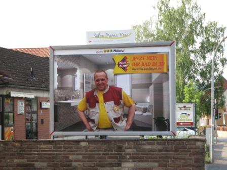 Plakatwerbung zum Pfingstfest in Bodenfelde