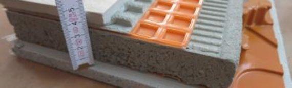 Aufbau einer Fußbodenheizung mit Schlüter Bekotec