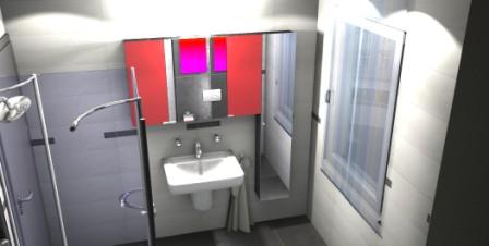 3D Badplanung mit Keuco Sanitärschränken