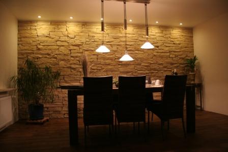 wohnzimmer steinwand optik: deko stein wand ebay. bilder eurer, Deko ideen