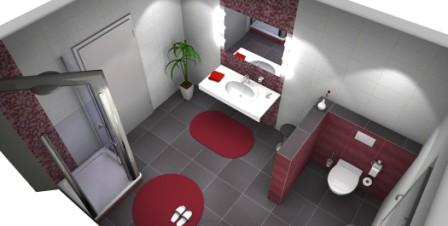 Badezimmer planer  Badplaner: Fotorealistischer Badezimmerplaner | Fliesen Fieber