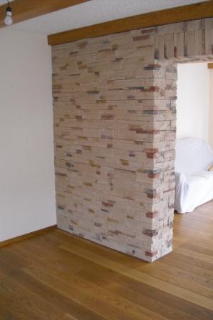 Stein fliesen wand innen steinwand innen alle infos zur for Steinwand fa r wohnzimmer