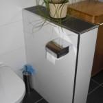 WC Schamwand mit Ablage gemauert und verfliest Bild16