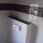 WC Vorwand verflieste Badablage Bild6