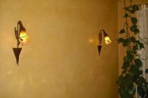 Wandgestaltung mit Venezianischem Spachtel