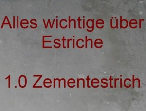 Zementestrich