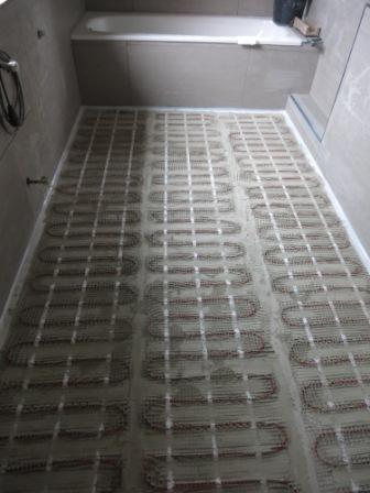 Fabulous Elektrische Fußbodenheizung für das Bad | Fliesen Fieber GI48