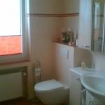 geflieste WC Vorwandelement - Ablage in Bodenfliese Bild4