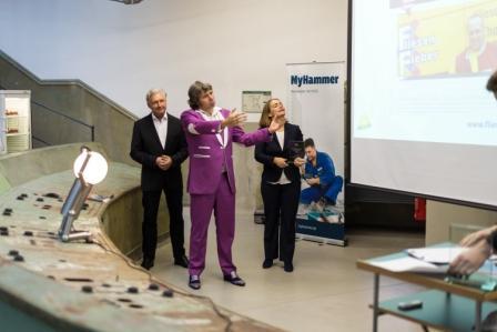 Volker Geyer, Torsten Müller und Claudia Frese