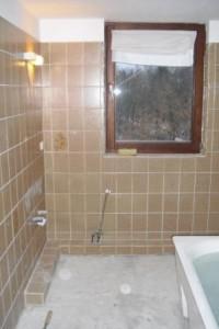 kleines Badezimmer vorher