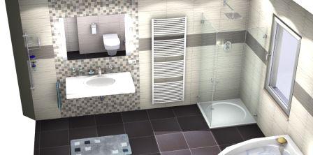 Charmant Badezimmer 3d Planer Fliesen_
