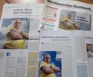 Presseberichte über Thomas Fieber