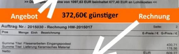 Meine Kundschaft spart 372,60€